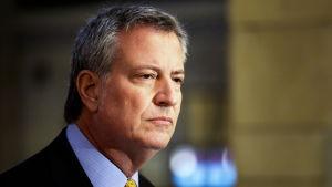 New Yorks borgmästare Bill de Blasio motsätter sig dödsstraff för uzbeken som åtalas för terrorbrott