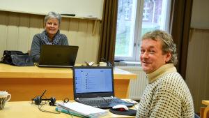 Gudrun Degerth och Gard Hodne.