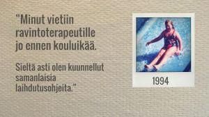 Elina vuonna 1994