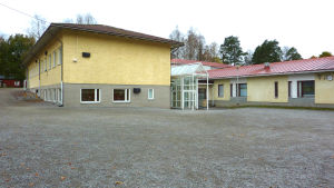 Kyrkfjärdens skola i Ingå.