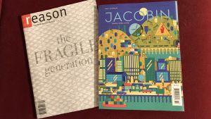 Vänster- och högertidningar i USA, Reason och Jacobin