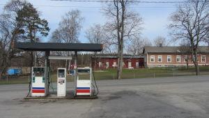 Bromarv bränslestation.