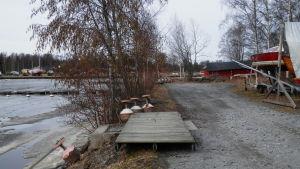 Gamla hamn i Jakobstad.