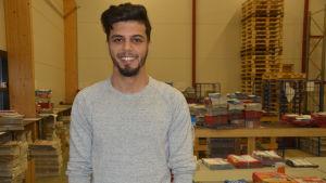 Ghaith Al-Taie, 26, kom till Finland från Bagdad 2015.