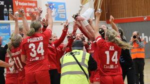 HIFK firar cupguld.