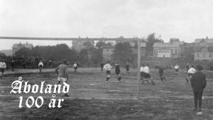 Fotboll i Pargas 1917