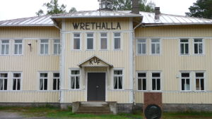 Kimito Ungdomsförenings hus Wrethalla.