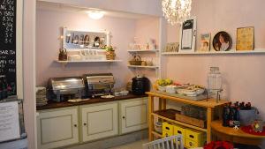 Café Hallonblad i Pargas.