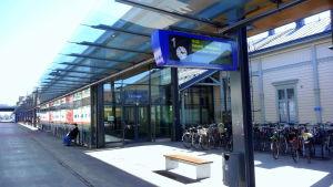 Vasa tågstation.
