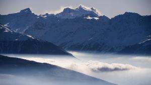 Schweiziska alperna.