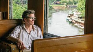 """Tosipohjainen elokuva """"Kuoleman rautatietä"""" sotavankina rakentaneesta brittiupseerista. Pääroolissa Colin Firth."""