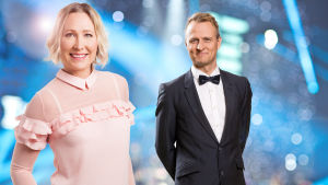 Suomen urheilugaalan juontavat Inka Helenius ja Riku Riihilahti.