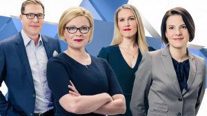 Presidentinvaalit 2018 – yli kymmenen tuntia suoria vaalitenttejä tv:ssä | Yle TV1 | yle.fi