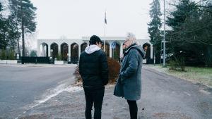 Ali ja Mira, Helsinki, 10.01.2018