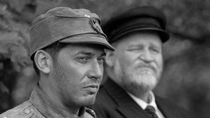 """Matti Onnismaa ja Oiva Lohtander tv-elokuvassa """"1943 Elokuu"""""""