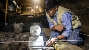Kaksi tuhatta vuotta sitten Teotihuacán oli yksi maailman suurimmista kaupungeista.