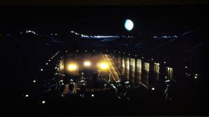 Scen från filmen 2001 - ett rymdäventyr.