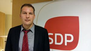 FSD:s ordförande Viktor Kock.
