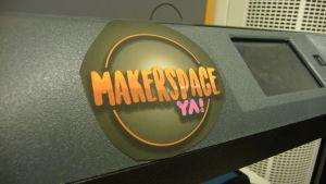 En logo där det står Makerspace YA!
