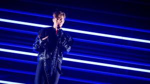 Benjamin Ingrosso dansade sig till final i Melodifestivalen 2018.