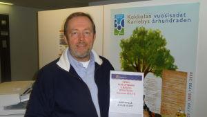Miljöchef Michael Hagström i Karleby