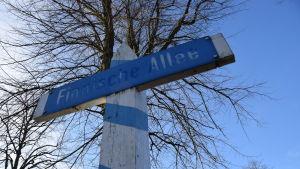 Finska allén i Hohenlockstedt