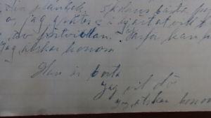 Dagbok från 1918.