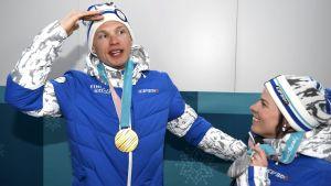 OS-hjältarna Iivo Niskanen och Krista Pärmäkoski kommer hem i dag.