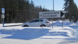 Granholmens industriområde i Jakobstad
