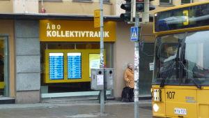Buss i Åbo.