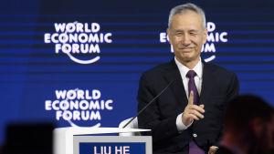 """Kinas ekonomiska """"kejsare"""" politbyråmedlemmen Liu He har försökt förhandla med amerikanerna om hur man kunde undvika ett hotande handelskrig"""