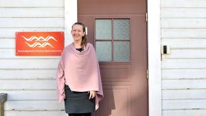 Leena Forsén, kommunikationschef vid Vasa stad.