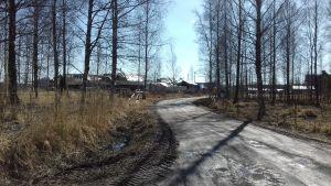 Ett område i Ingå kyrkby som kallas Ingåstrand där det planeras bostadsmässa.