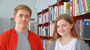 Rasmus Svedberg och Julia Halttunen