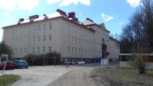Ekåsens huvudbyggnad i Ekenäs där Raseborgs administration ska flytta in.