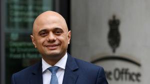 Storbritanniens nya inrikesminister Sajid Javid