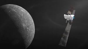 Rymdsonden Bepicolombo ska till Merkurius.