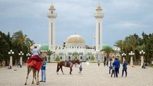 Habib Bourguiba-mausoleet i Monastir i Tunisien.
