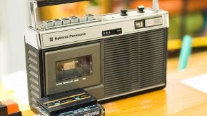 National Panasonic C-kasettisoitin.
