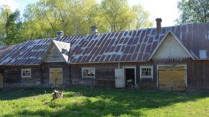 Det gamla fähuset ska bli stall då Wahlrooska hemmanet förvandlas till hästsportcenter.