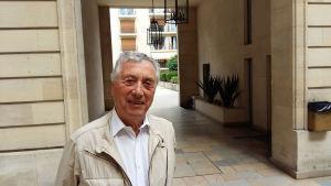 Gérard Simonet är chef i stadsmiljö organisationen Vivre le Marais.