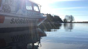 Sjöräddningsbåt vid Bågaskär.