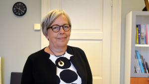Marianne West, skoldirektör i Vasa.