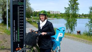 Siri Gröndahl, gatuplaneringsingenjör vid Vasa stad.