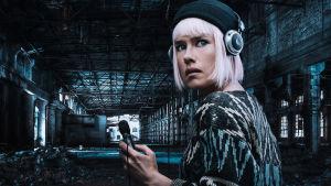 Jessica Grabowsky i rollen som Kajsa Mattsson