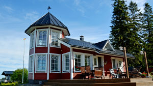 Ingemar Tågs villa.