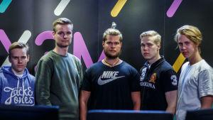 CS laget Rööki Team på Facklan 2018