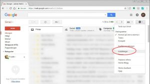 inställningsinstruktioner för google