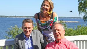 Ella Kannisen vieraina ovat Englantiin kotiutunut kapellimestari Sakari Oramo ja näyttelijä Ville Virtanen Ruotsista.