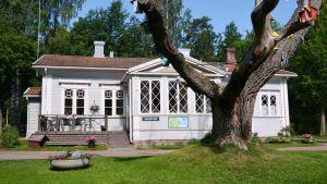 Receptionen vid Ekuddens campingplats i Lovisa
